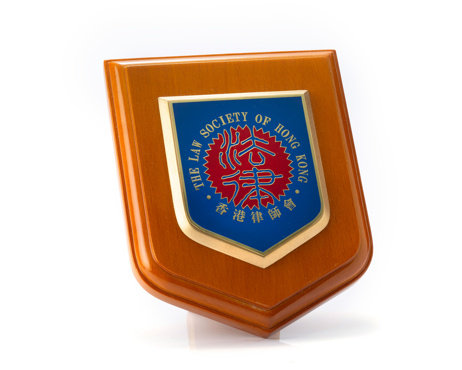 Law Society Wooden Plaque